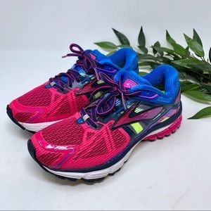 Brooks Ravenna 6 Running Shoe Pink Blue 7.5
